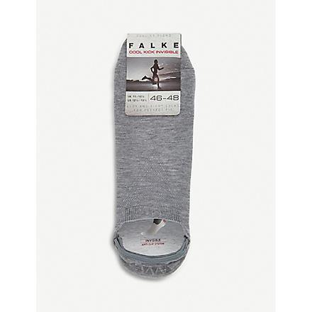 FALKE Cool kick invisible socks (Grey