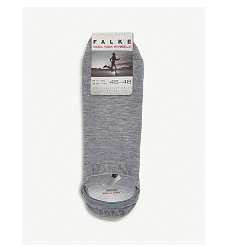FALKE Cool kick invisible socks (Grey