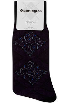 BURLINGTON Paisley socks