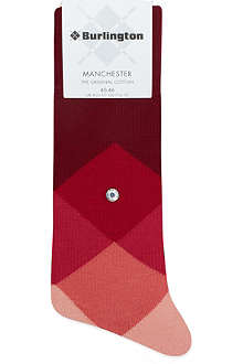 BURLINGTON Clyde diamond socks