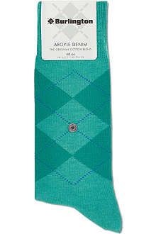 BURLINGTON Argyle socks