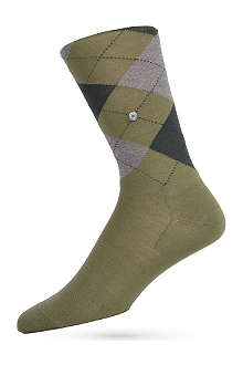 BURLINGTON Manchester argyle socks