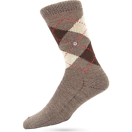 BURLINGTON Preston socks (Brown