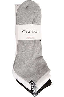 CALVIN KLEIN Pack of three athletic sport socks