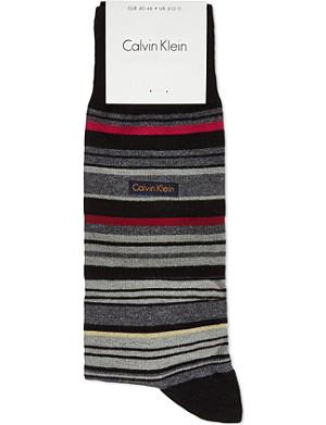 CALVIN KLEIN Striped socks