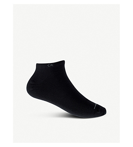 CALVIN KLEIN Pack of three casual socks (Black