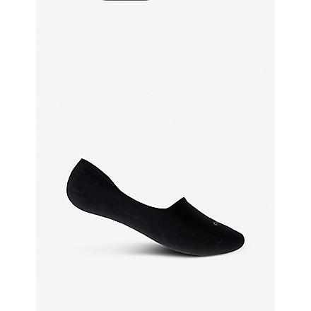 CALVIN KLEIN No Show socks (Black