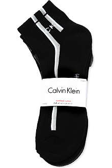 CALVIN KLEIN Three-pack socks