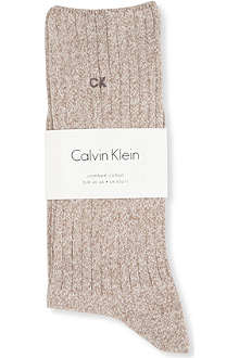 CALVIN KLEIN Essential ribbed socks