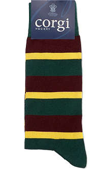 CORGI Regimental striped socks