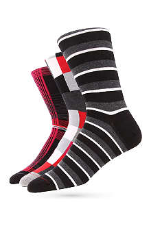 BJORN BORG Smörgåsbord socks three-pack gift set