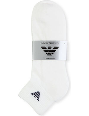 EMPORIO ARMANI Pack of two pairs of socks