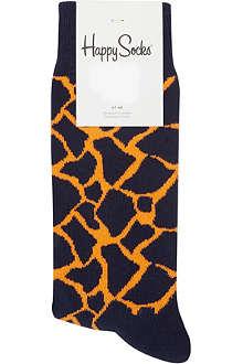 HAPPY SOCKS Giraffe socks