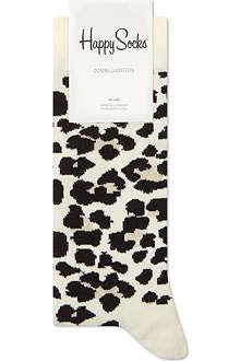 HAPPY SOCKS Leopard print socks