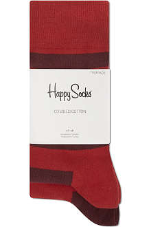 HAPPY SOCKS Striped ankle socks