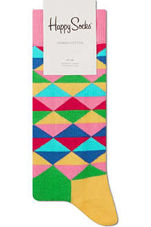 HAPPY SOCKS Geometric ankle socks