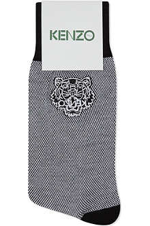 KENZO Tiger embroidered socks