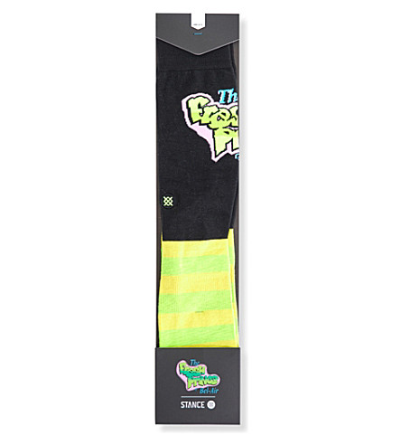 STANCE Fresh Prince of Bel Air cotton-blend socks (Blk+ylw