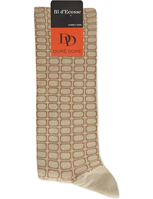 DORE DORE Sensitive patterned socks