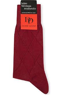 DORE DORE Harlequin pattern socks