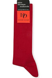 DORE DORE Ribbed Merino wool socks