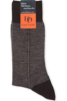 DORE DORE Birdseye socks