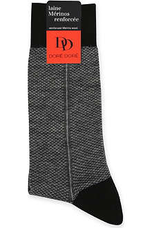 DORE DORE Patterned Merino wool socks
