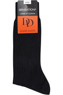 DORE DORE Luxe ribbed socks