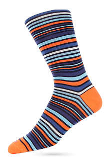 DUCHAMP Varied Stripe socks