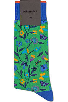 DUCHAMP Butterfly Garden socks