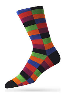 DUCHAMP Harlequin socks