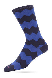 DUCHAMP Zigzag socks