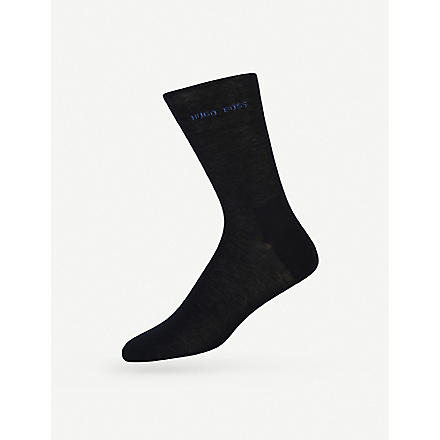 HUGO BOSS Logo socks (Navy