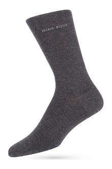 HUGO BOSS Plain logo socks