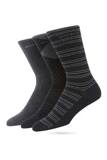 HUGO BOSS Pack of three socks
