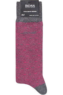 HUGO BOSS Thin striped socks