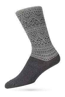 HUGO BOSS Fairisle socks