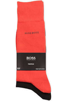 HUGO BOSS Pack of two cotton socks