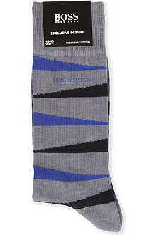 HUGO BOSS Tiger-striped socks