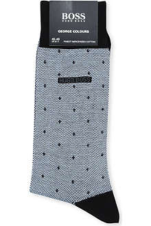 HUGO BOSS George dot socks