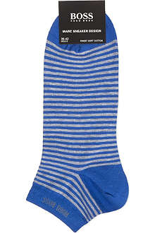 HUGO BOSS Striped Marc trainer socks