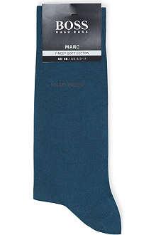 HUGO BOSS Marc plain cotton socks