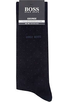 HUGO BOSS Pin dot sock