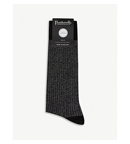 PANTHERELLA Sparkle socks (Black