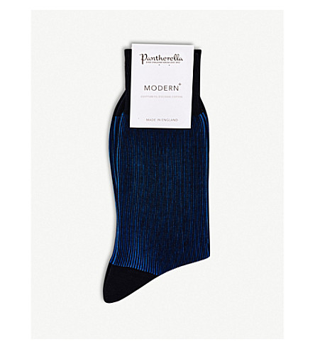 calcetines algodón marino Santos azul PANTHERELLA de en mezcla 5RUwFnSWq1