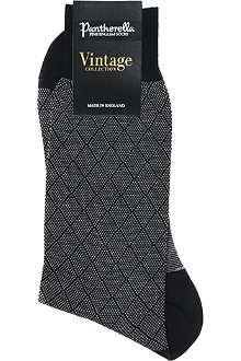 PANTHERELLA Vintage collection diamond socks