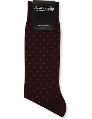 PANTHERELLA Spot-print socks