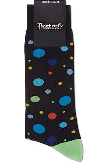 PANTHERELLA Multi-spot cotton socks