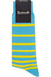 PANTHERELLA Round bar striped cotton socks