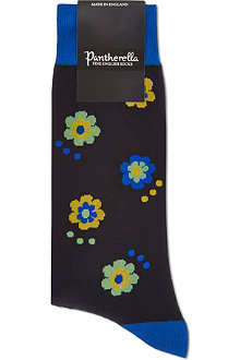 PANTHERELLA Festival flower cotton socks